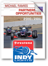 Partnership Deck with Indy Lights Info sponsors