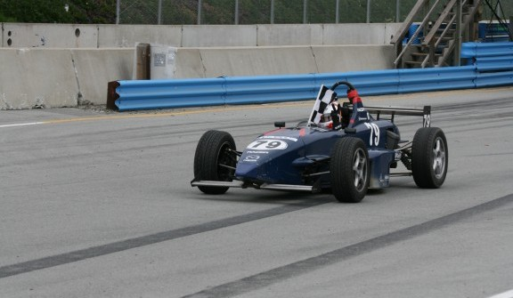 Ramies wins in Skip Barber!
