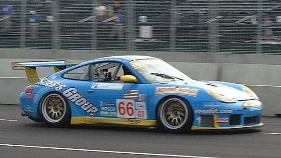 Michael Tests GT Porsche
